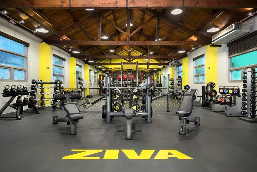 All you need for health and fitness under one roof - ZIVA
